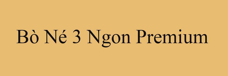 Bò Né 3 Ngon
