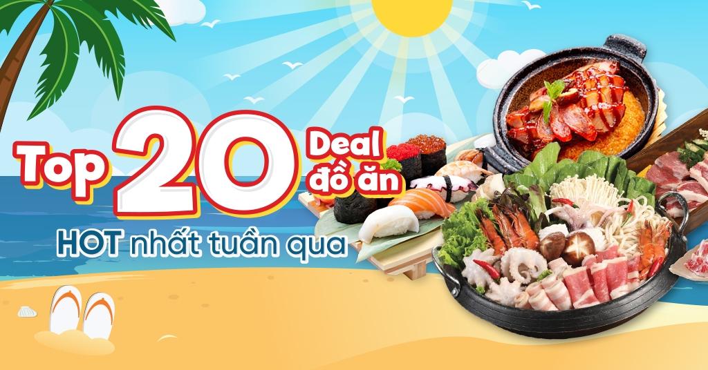 Top 20 Deal Đồ ăn hot nhất