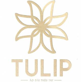 Áo dài thêu tay Tulip
