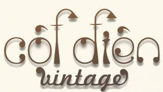 Cột điện Vintage