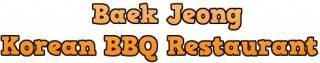 Baek Jeong Korean BBQ Restaurant