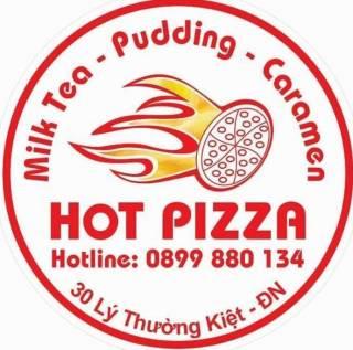 Hot Pizza and Milk Tea