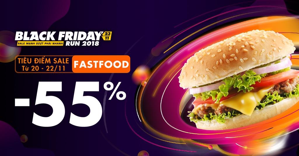 FAST FOOD -55%