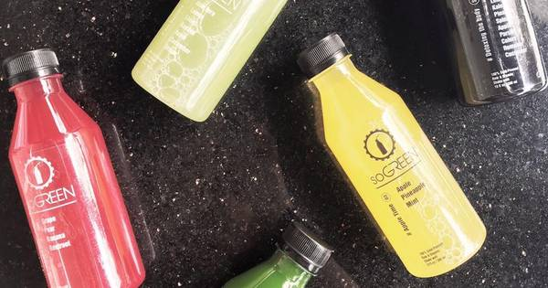 soGREEN Cold Pressed Juice
