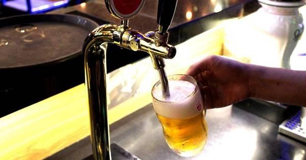 Cheering Beer