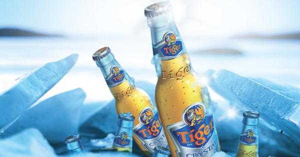 Kết quả hình ảnh cho tiger crystal beer