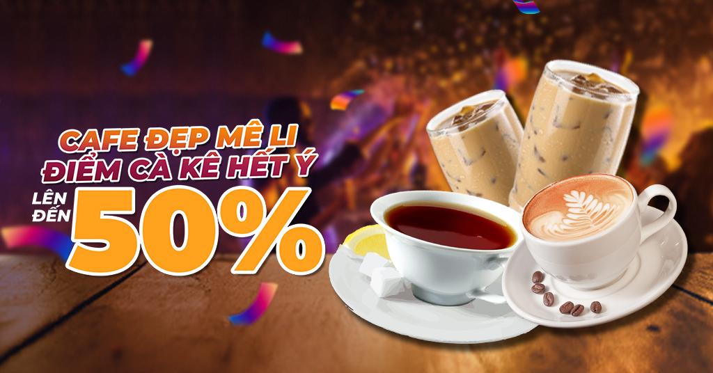 Cafe Đẹp Mê Li, Điểm Cà Kê Hết Ý