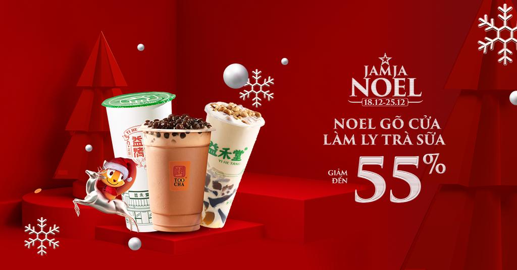 Noel Gõ Cửa - Làm Ly Trà Sữa