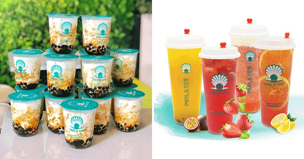 THE PERLA - FOAM TEA HONG KONG