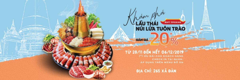 Nhà hàng Krabi Thái Hotpot