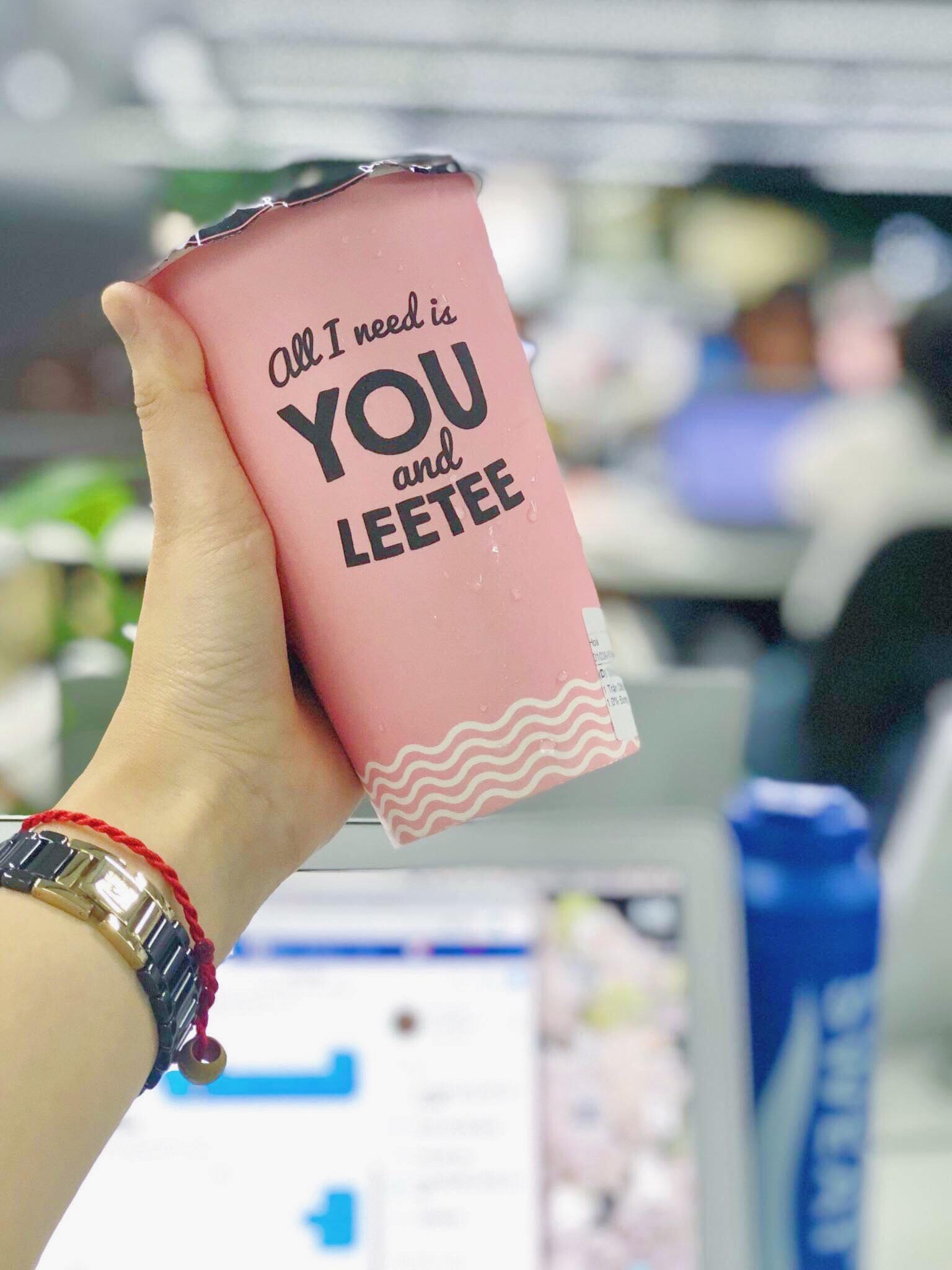 trà sữa Leetee